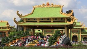 Dai Nam Van Hiena jest turystyki kompleksem w Binh Duong prowinci, Wietnam zbiory wideo