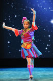 The Dai nationality girl-Folk dance Stock Photo
