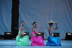 The Dai nationality Shao Duoli-2011 dancing class Graduation Concert party Royalty Free Stock Image