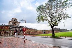 Dai Noi Palace Complex de Hue Monumentsin Vietnam photo stock