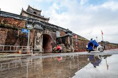 Dai Noi Palace Complex of Hue Monumentsin vietnam. royalty free stock photos
