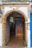 Dai vicoli del Medina in Essaouira fotografie stock libere da diritti