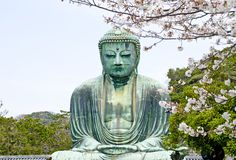 Daibutsu Ιαπωνία Στοκ εικόνα με δικαίωμα ελεύθερης χρήσης