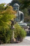 Daibutsu или Budha Amida в Kotokuin Стоковое Изображение