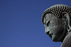 The Daibutsu. (Large Buddha) in Kamakura, dating from 1252 Stock Photo