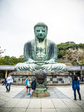 Daibutsu Boedha van Kamakura Royalty-vrije Stock Foto's