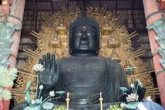 Daibutsu in the Daibutsu-den at Todaiji Temple. Royalty Free Stock Photo