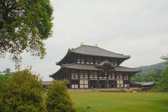 Daibutsu-Den Hall at Todaiji Temple Royalty Free Stock Image