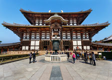 Daibutsu-den at Todaiji Temple in Nara Stock Images