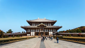 Daibutsu-den at Todaiji Temple in Nara Stock Photo