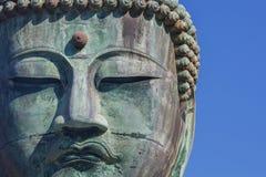 Daibutsu - grand Bouddha de temple de Kotokuin dedans Photo stock