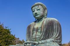 Daibutsu - grand Bouddha de temple de Kotokuin dedans Photographie stock libre de droits