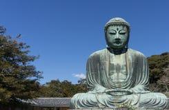 Daibutsu. The Great Buddha in Kamakura ,Kanagawa Prefecture, Japan Stock Photography