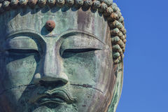 Daibutsu - The Great Buddha of Kotokuin Temple in Stock Photo