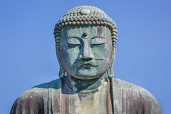 Daibutsu - The Great Buddha of Kotokuin Temple in Kamakura stock photography