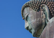Daibutsu - The Great Buddha of Kotokuin Temple in Kamakura Stock Images