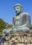 Daibutsu - The Great Buddha of Kotokuin Temple in Kamakura Stock Photo