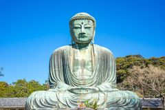 Daibutsu the great buddha at kotokuin temple in Kamakura, Kanaga Stock Images