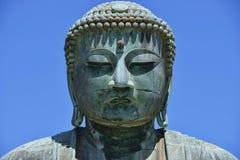 Daibutsu - il grande Buddha del tempio di Kotokuin a Kamakura Fotografie Stock