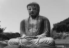 Daibutsu. Kamakura japan buddha temple Royalty Free Stock Images