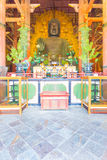 Daibutsu Statue Front Centered Great Buddha Hall V Royalty Free Stock Photo