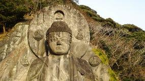Daibutsu statue at Nokogiriyama, Chiba, Japan Royalty Free Stock Photo