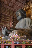 Daibutsu of Todai-ji Temple. The oldest temple of large Buddha image Luang Phor Toh Daibutsu, which is a large Buddha statue in the world Stock Photos