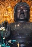 Daibutsu at Todaiji Temple in Nara Stock Photos