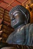 Daibutsu at Todaiji Temple in Nara Stock Photo