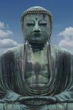 Daibutsu, Wielka Buddha rzeźba jest punktem zwrotnym Tokio, Japonia zdjęcia royalty free