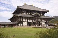 daibutsuden日本ji奈良寺庙todai 免版税库存图片