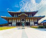 Daibutsuden Great Buddha Hall Exterior Centered H Stock Photos