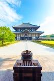 Daibutsuden Great Buddha Hall Front Walkway V Stock Photo