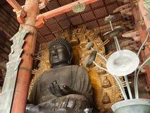 Daibutsuden in Tempel Todaiji Stock Afbeeldingen