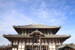 Daibutsuden of Todai ji in Nara Stock Image