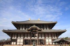 Daibutsuden of Todai ji in Nara Royalty Free Stock Photos