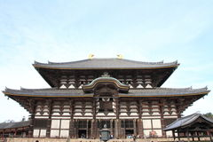 Daibutsuden of Todai ji in Nara Stock Photo