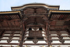 Daibutsuden of Todai ji in Nara Stock Photo