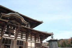 Daibutsuden of Todai ji in Nara Royalty Free Stock Photo