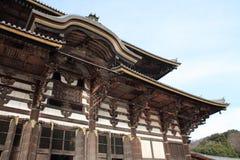 Daibutsuden of Todai ji in Nara Royalty Free Stock Photography