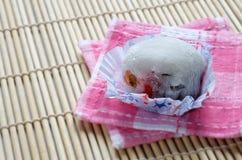 Daifuku墨池草莓 库存照片