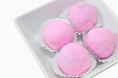 Daifuku Mochi or Daifuku Royalty Free Stock Photography