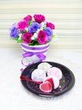 Daifuku mochi japanese sweets Stock Image