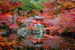 Daigo籍是真言宗佛教寺庙在Fushimi-ku。 免版税库存照片