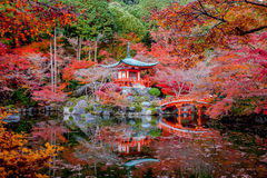 Daigo-ji jest Shingon Buddyjskim świątynią w Fushimi-ku. Zdjęcie Royalty Free