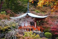 Daigo Ji, Kyoto, Japón Fotografía de archivo libre de regalías