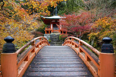 Daigo Ji, Kyoto, Japón Foto de archivo libre de regalías