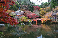 Daigo Ji, Kyoto, Japon image libre de droits