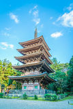 .Daigo-ji temple  in autumn, Kyoto, Japan Royalty Free Stock Photo