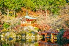 Daigo-ji temple  in autumn, Kyoto, Japan ( Filtered image proces Stock Photography